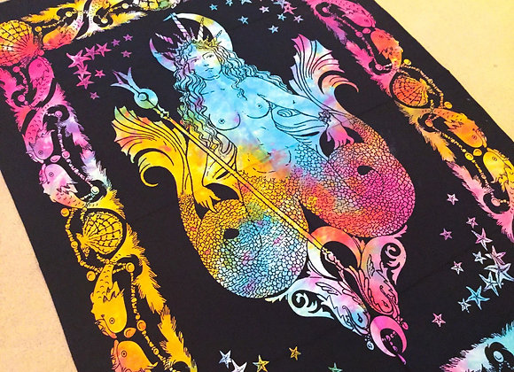 Rainbow Mermaid Altar Cloth