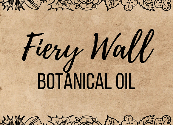Fiery Wall of Protection Botanical Oil