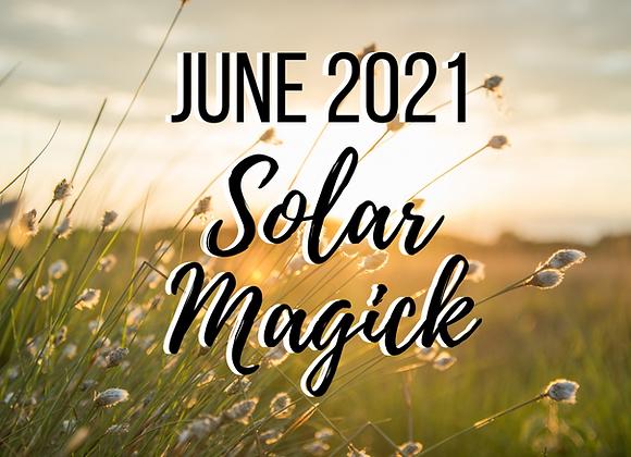 June Mystery Box - Solar Magick