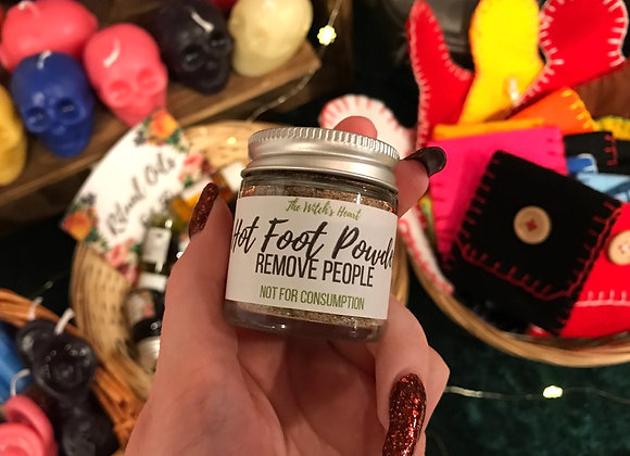 Hot Foot Sachet Powder