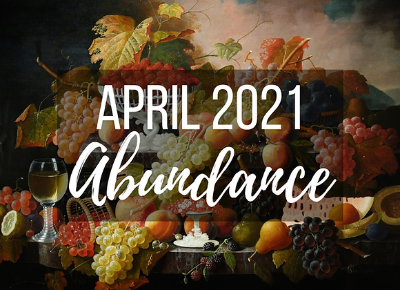 April Mystery Box - Abundance