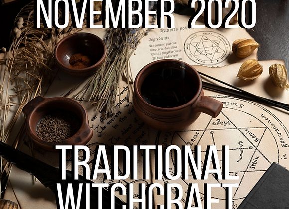 November Mystery Box - Traditional Witchcraft