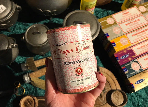 Dragons Blood Backflow Incense