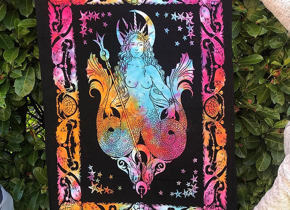 Rainbow Mermaid Altar Cloth