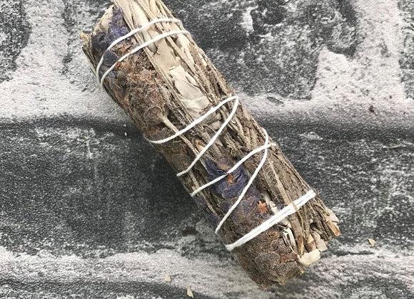 White Sage + Lavender 10cm