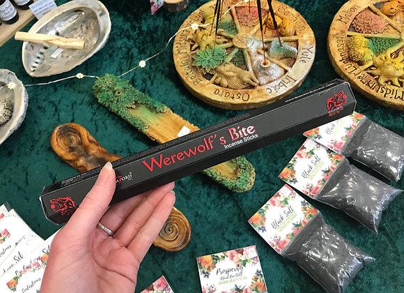"""""""Werewolf's Bite"""" Stamford Incense Sticks"""