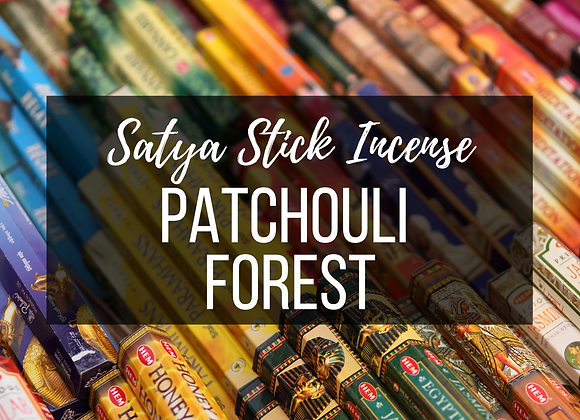 Sayta Patchouli Forest Incense