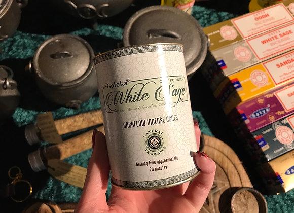 White Sage Backflow Incense