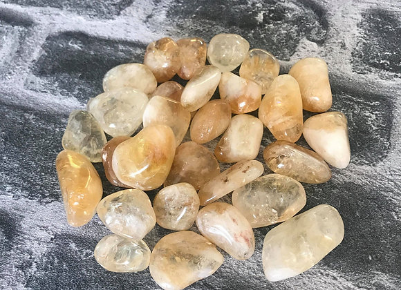 Citrine Tumble Stone - Medium