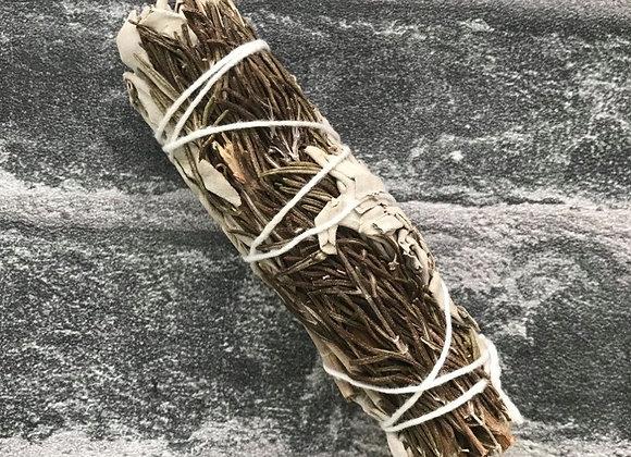White Sage + Rosemary 10cm