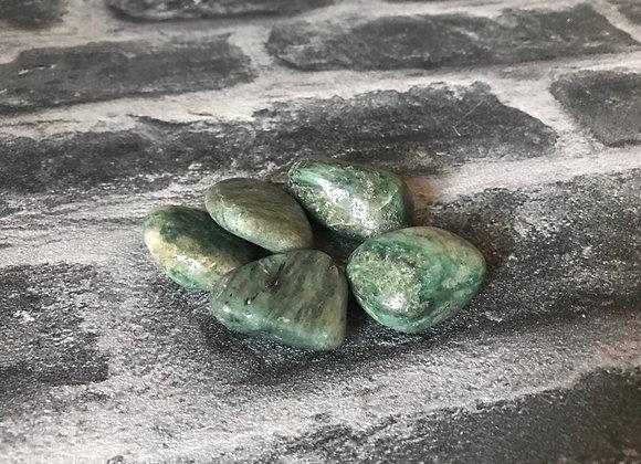 Fuchsite Tumble Stone - Large