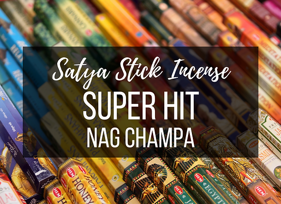 Satya Super Hit Nag Champa