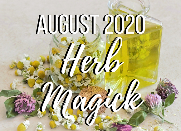August Mystery Box - Herb Magick