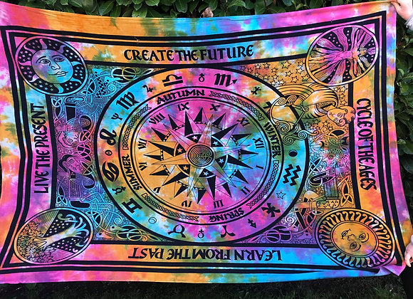 Cycle of Ages Rainbow Altar Cloth
