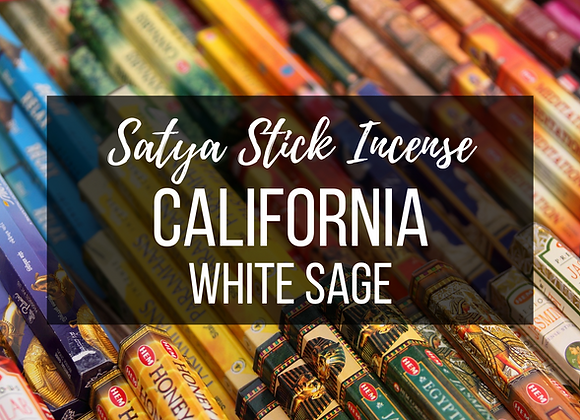 Sayta Californian White Sage Incense