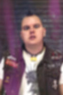 George Garnett Vocalist for Hull Punk Band Smiling Assassin