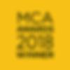 MCA Awards 2018 Winner badg