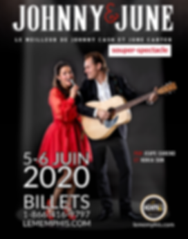 Johnny & June  affiche 11x14.png