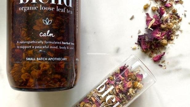 blend - organic loose leaf tea - Amber Jar