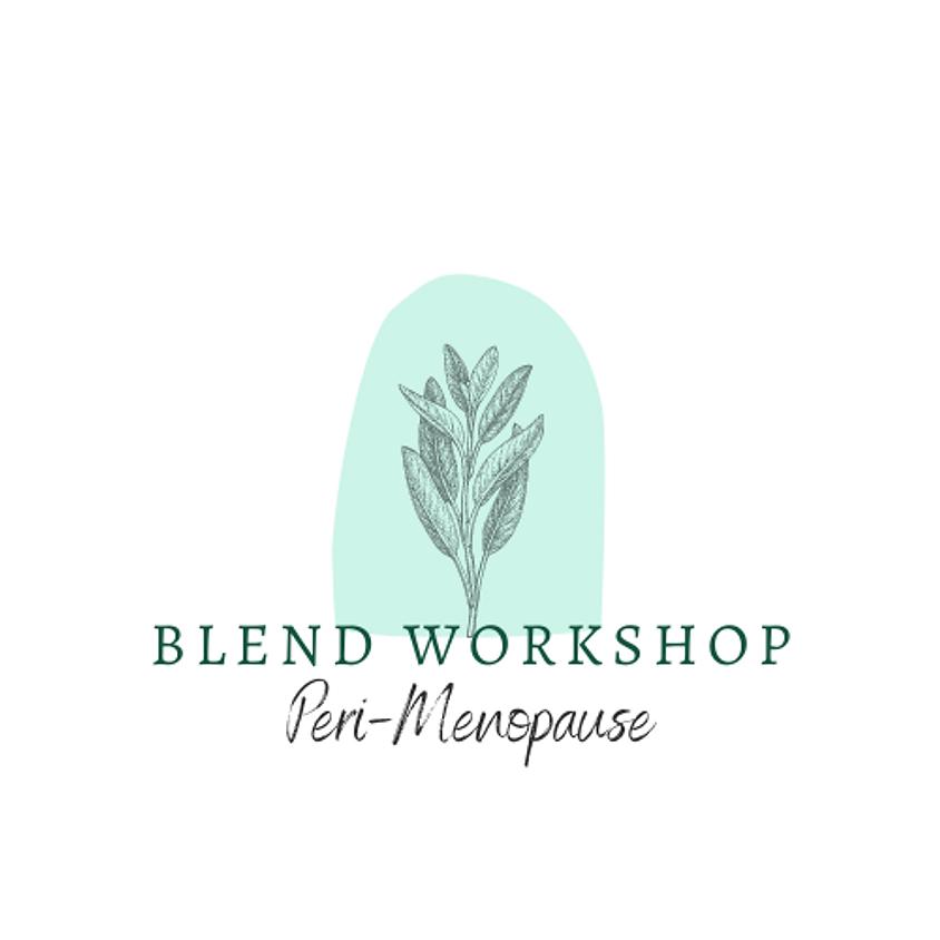 Blend Workshop - Perimenopause
