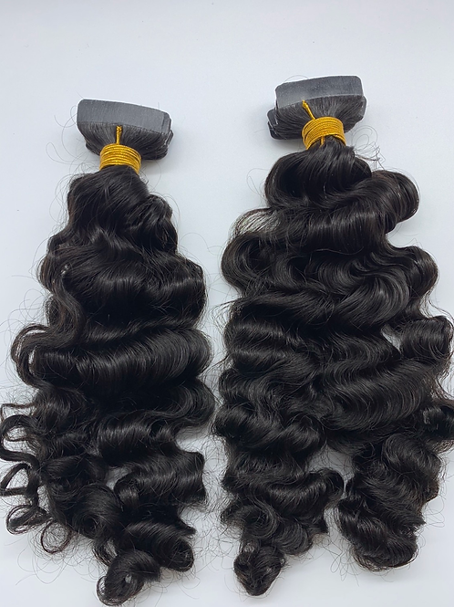Curly Tape-In Extensions