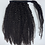 Thumbnail: Wrap around Kinky Curly ponytail