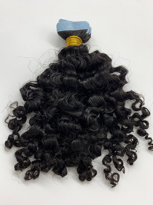 Exotic Curly Tape-In Extensions