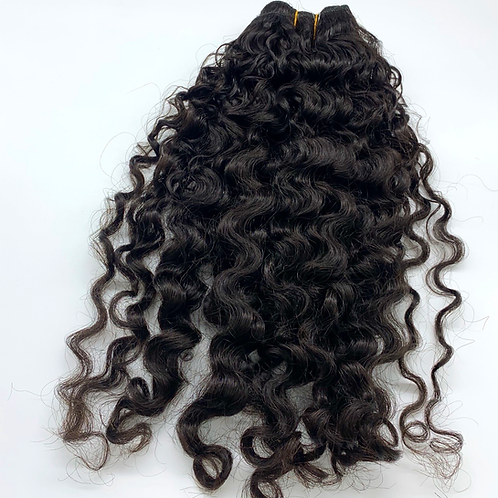 Exotic curly indian hair