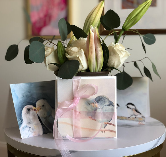 5 Card Love Bird Bundle