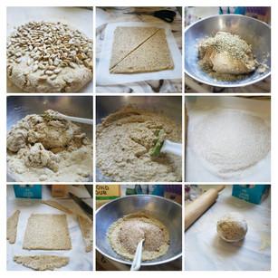 Raw Vegan Almond Bread