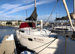AFTER Hanse 385 waxing, stainless