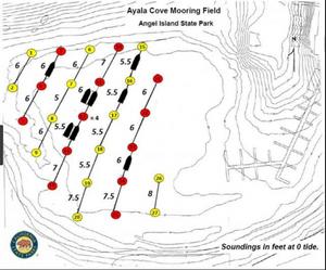 Angel Island Ayala Cove Mooring Diagram