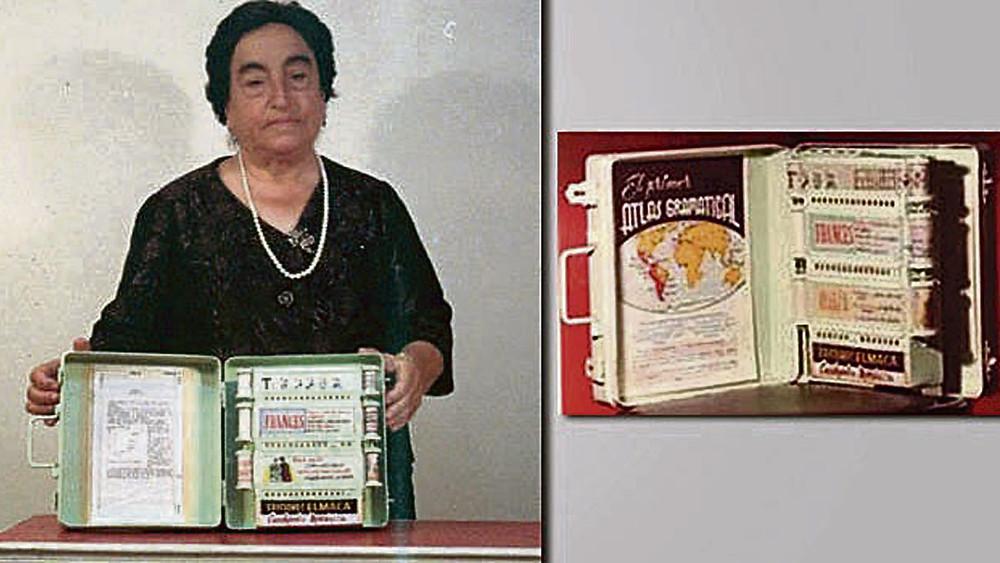Ángela Ruíz, inventora, e-book, maestra, educadora. mujer