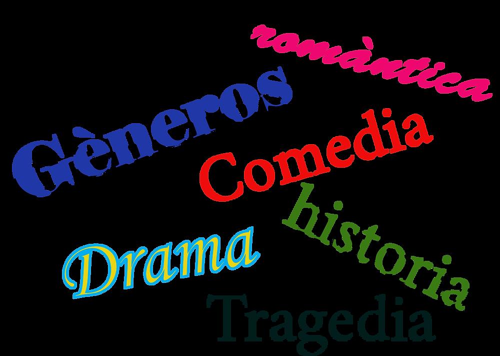 Géneros, romántica, comedia