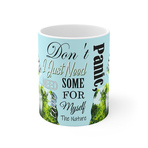 Don't panic, I just need some time for myself. The Nature Ceramic Mug (EU)
