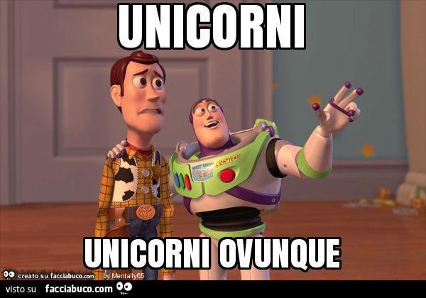 Unicorni ovunque, sono molti i meme che sono stati creati