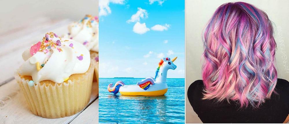 Dolci, gonfiabili, capelli... la unicorno mania impazza ovunque