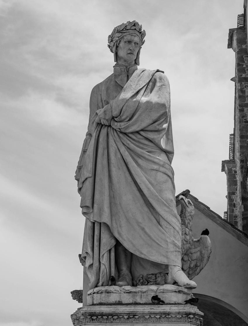 Nel Trecento la corona d'alloro veniva posta sul capo di poeti e scrittori