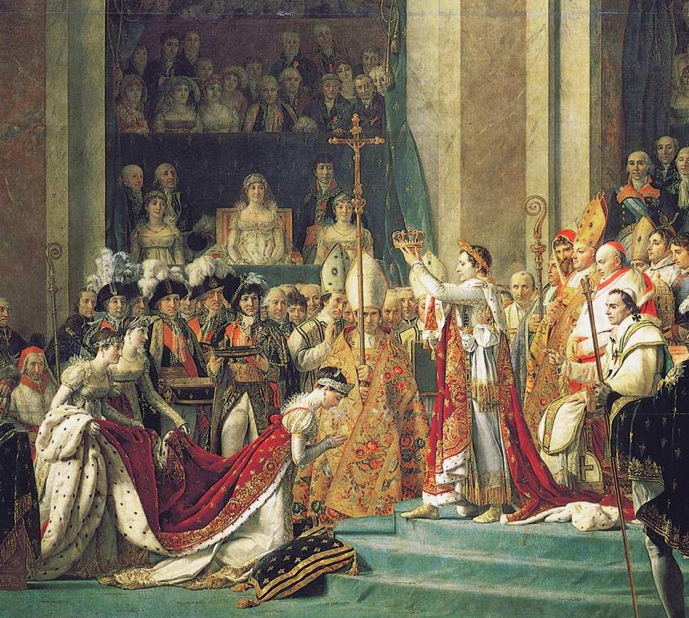 Napoleone a Milano si mette in testa la corona da solo