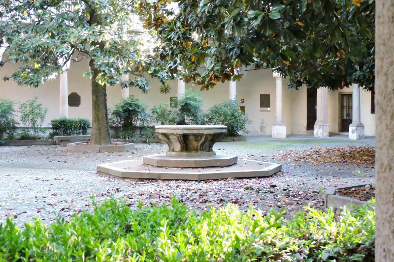 Cortile delle Magnolie Università di Pavia