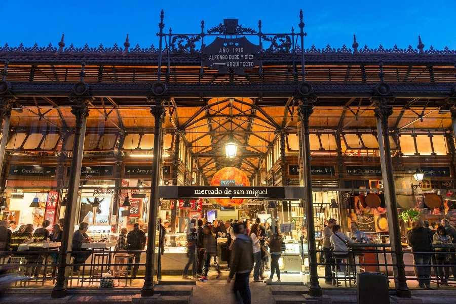 Il Mercado de San Miguel de Madrid, il posto migliore per mangiare le tapas