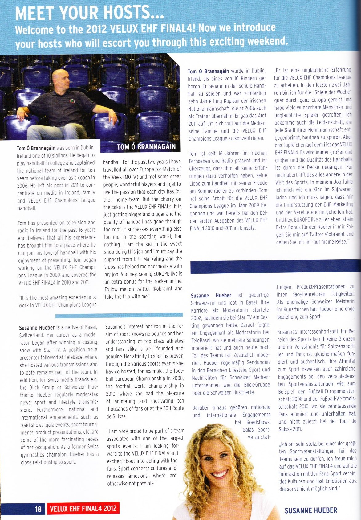 EHF Final Four Magazin