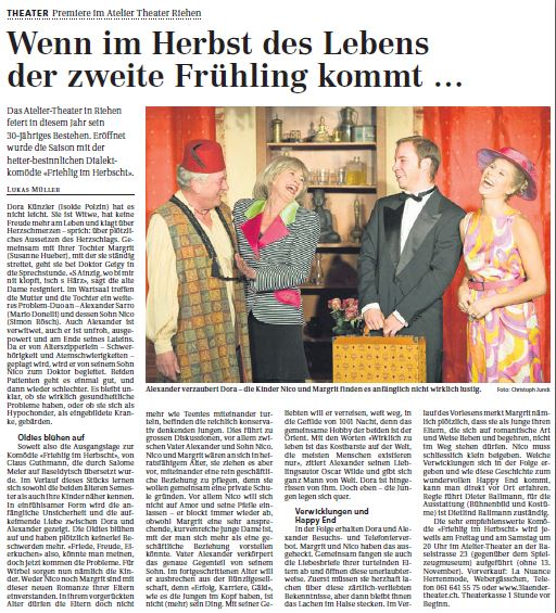 Riehener Zeitung