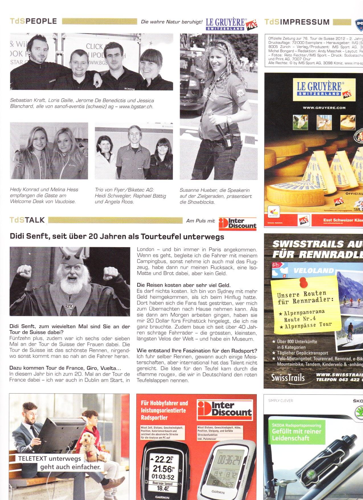 Tour de Suisse Magazin