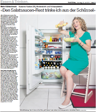 BaZ, Rubrik Mein Kühlschrank