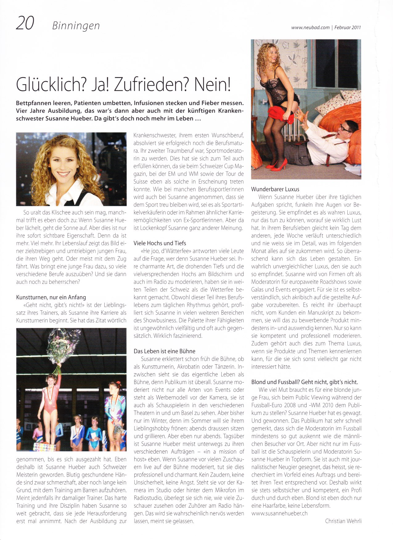 Neubad Magazin, Portrait