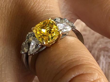 Make Your Yellow Diamonds Sparkle Again