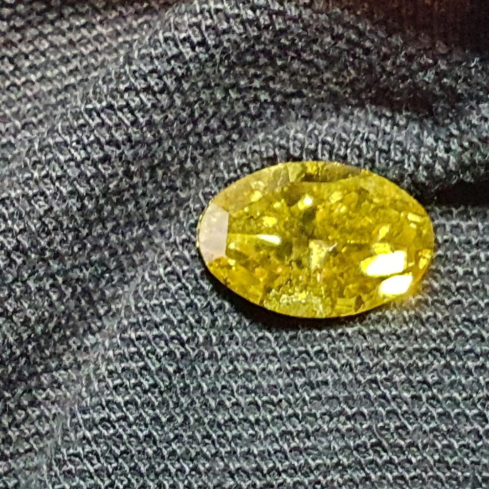 finished polished zimmi yellow diamond antwerp