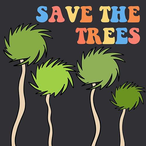 Save the Trees (Trufulla Green/Grey)