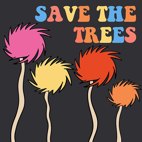 Save the Trees (Trufulla Multi/Grey)